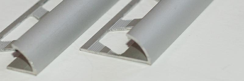 Алюминиевые уголки и профили для керамической плитки