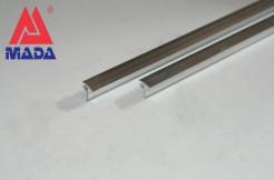Алюминиевый тавровый профиль 13мм, 125см, 250см, без покрытия