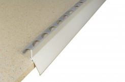 Алюминиевый профиль для балконов, подоконников, террас (капельник), 11мм, 250см <br> анодированный, серебро