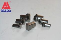 Соединения для полукруглых профилей из нержавеющей стали, 8мм, 10мм, 12мм