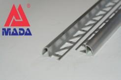 Алюминиевый наезжающий профиль, 10мм, 250см, без покрытия
