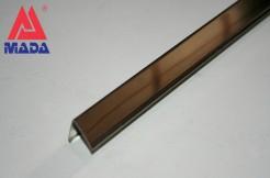 Профиль из нержавеющей стали, 20мм х 20мм, 250см, наружный, полированный