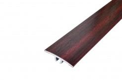 Алюминиевый плоский порог 33 мм со скрытым креплением,