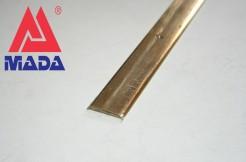Порог латунный 30 мм, 90 см, 180 см, с отверстиями, полированный