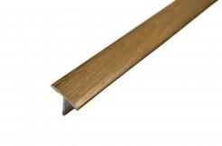 Алюминиевый тавровый профиль 20 мм, 125 см, 250 см, ламинированный,