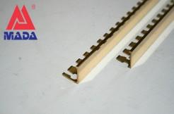 Латунный ГИБКИЙ профиль 12мм, 250см, прямой, полированный
