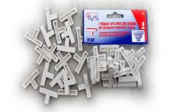 Т-образные крестики дистанционные для укладки керамической плитки, 8мм, 20шт