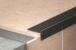 Угол резиновый для ступеней противоскользящий, самоклеющийся 100 см, 150 см