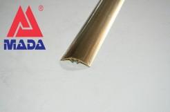 Порог латунный 40 мм, 90 см, 180 см, со скрытым монтажом, полированный