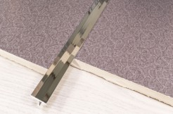 Латунный тавровый профиль, 20 мм, 250 см, хромированный