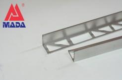 Алюминиевый профиль-уголок прямой, 12мм, 250см, без покрытия