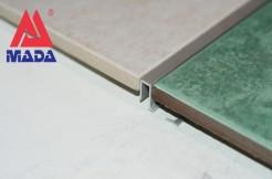 Алюминиевый П-образный профиль 7,5мм, 250см,