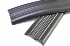 Резиновая (ПВХ) вставка для противоскользящего алюминиевого профиля USR, PSR