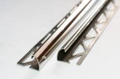 Профиль из нержавеющей стали, 12мм, 250см, полукруглый, полированный