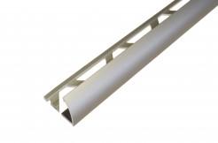 Алюминиевый профиль-уголок полукруглый, 10 мм, 250 см