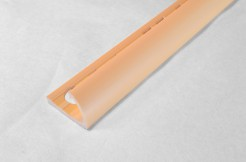 ПВХ-профиль угловой для керамической плитки, 9мм, 270см, наружный, кремовый