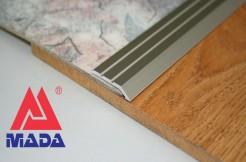 Алюминиевый разноуровневый порог 30 мм / 5 мм