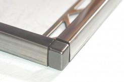 Соединения для квадратных профилей из нержавеющей стали, 9 мм, 11 мм, 12 мм