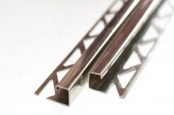 Профиль из нержавеющей стали, 12 мм, 250 см, квадратный, полированный