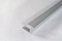 Алюминиевый гибкий тавровый профиль 15мм, 125см, 250см,