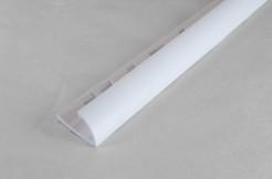 ПВХ-профиль угловой для керамической плитки, 9мм, 270см, наружный, белый
