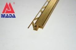 Латунный профиль-ступень прямой 11мм, 250см