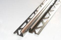 Профиль из нержавеющей стали, 10мм, 250см, полукруглый, полированный