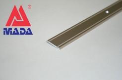 Алюминиевый плоский порог 30 мм