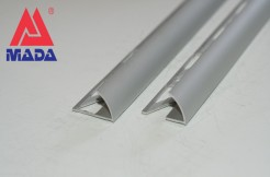 Алюминиевый профиль-уголок полукруглый, 12мм, 250см