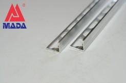 Алюминиевый профиль-уголок прямой, 10мм, 250см, без покрытия